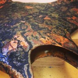 Manta ray detail, 2016