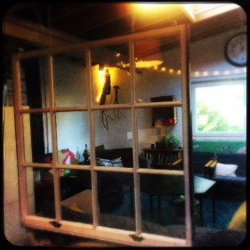 Ciustom made window hanger - Tribe Porty, 2016