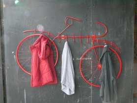 Bike Coat Rack, 2013